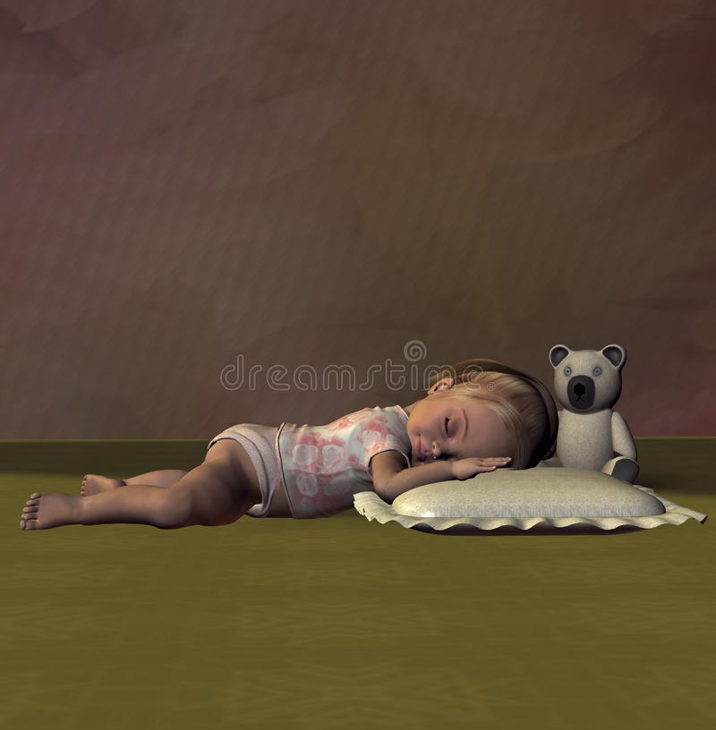 Sweet Dreams Stock Image