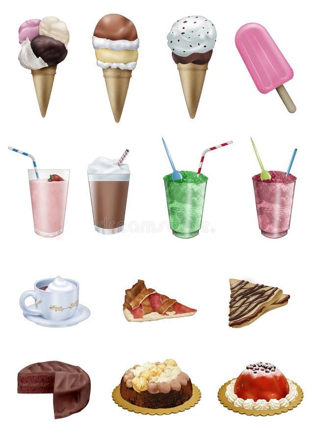 Download Sweet dreams stock illustration. Image of dessert, temptation - 15109036