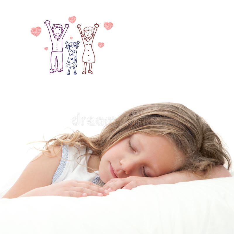 Sweet dreams. stock photo