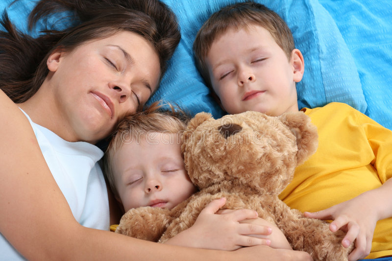 Download Sweet dreams stock image. Image of bedtime, mother, pillow - 2719639