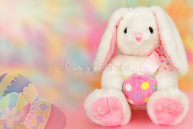 Sweet Easter bunny royalty free stock image