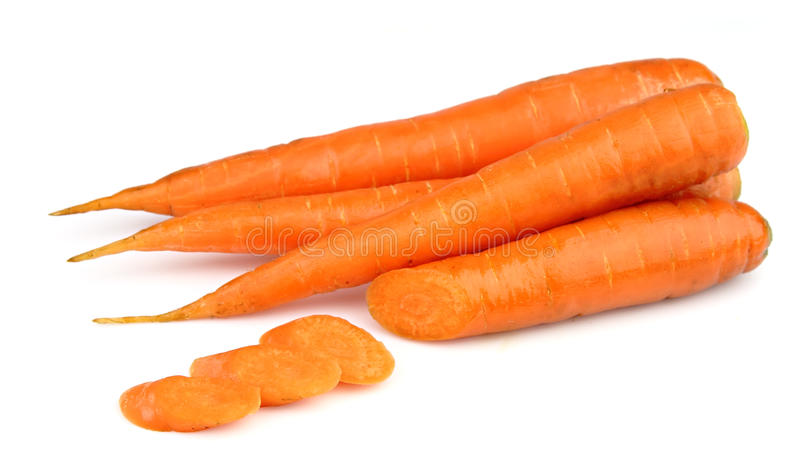 Sweet And Freash Carrots Royalty Free Stock Image
