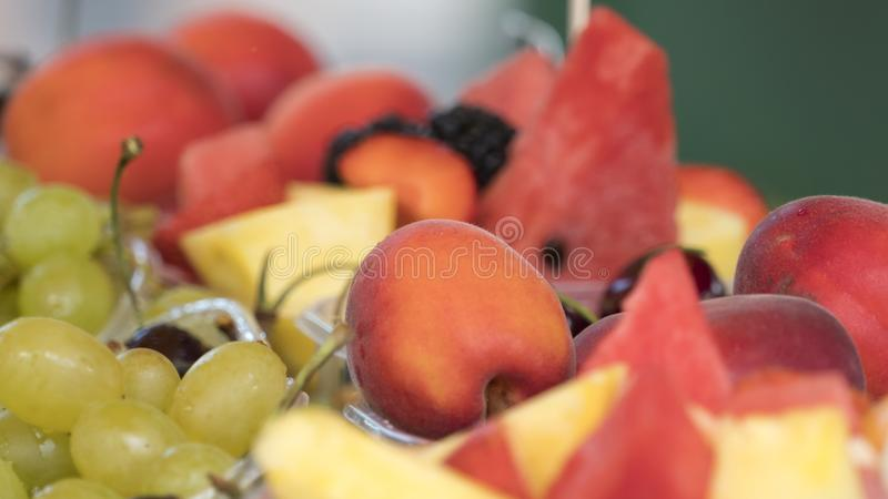 Sweet and fresh fruit stock photography