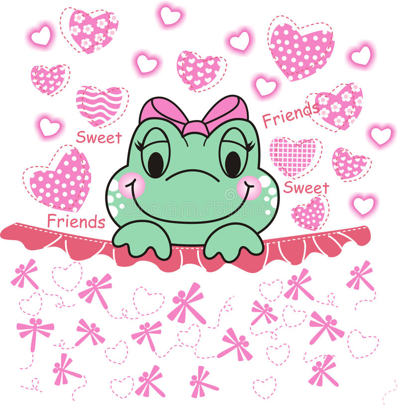Sweet Frog Royalty Free Stock Photography
