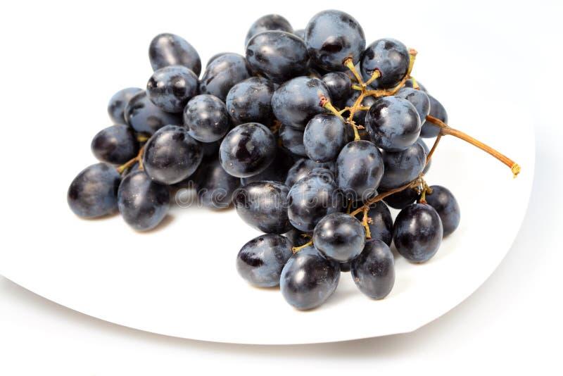 Sweet grapes royalty free stock photos