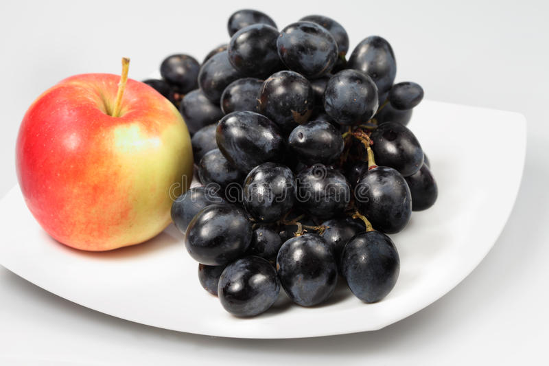 Sweet grape stock images