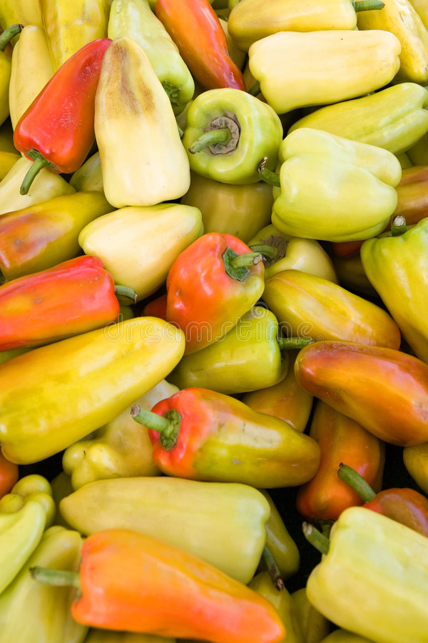 Free Sweet Gyspy Peppers Royalty Free Stock Photo - 6217045