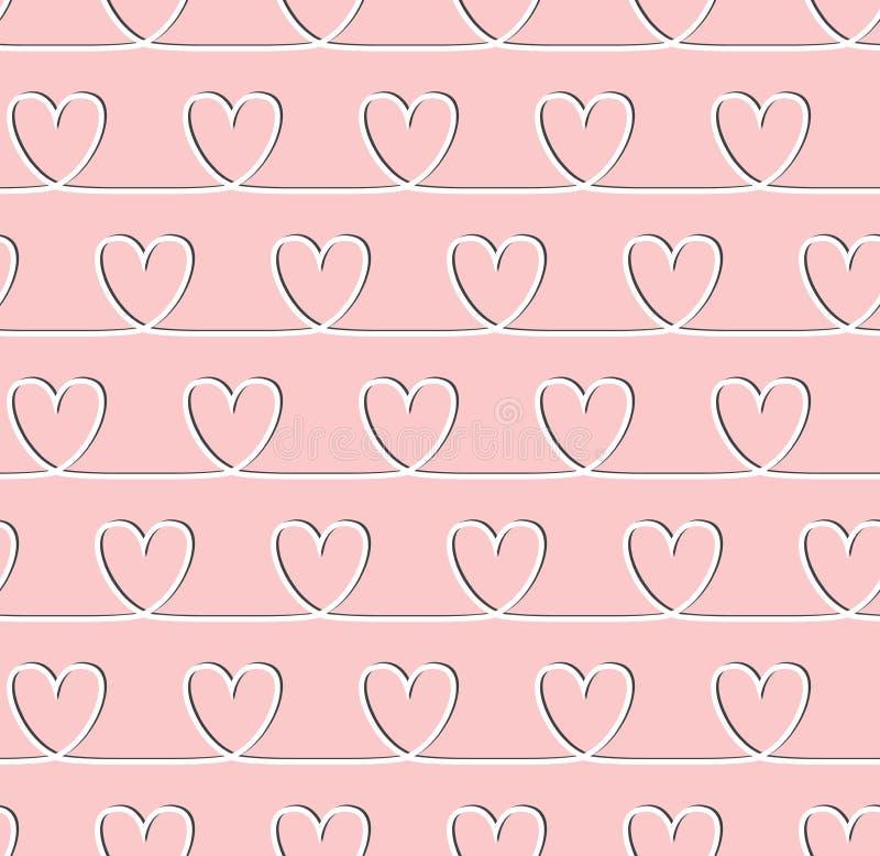 Free Sweet Heart Seamless Pattern Royalty Free Stock Image - 47714146