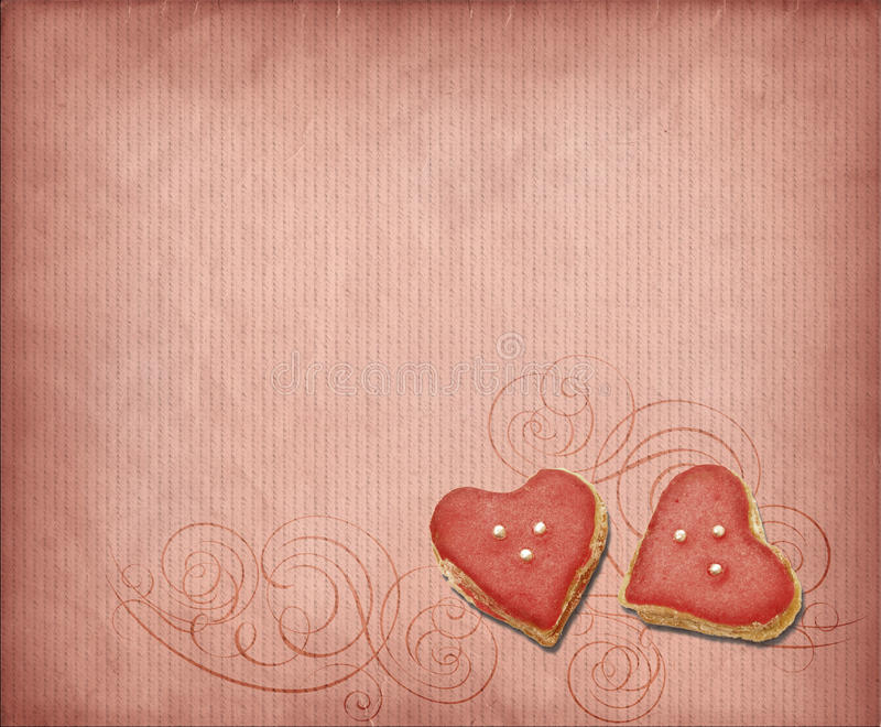 Sweet hearts stock photo