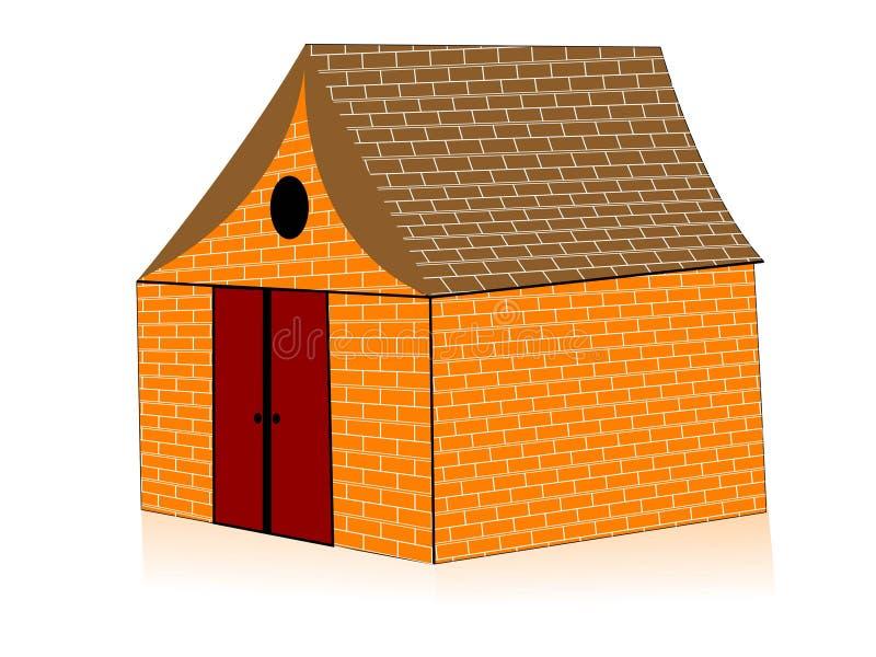 Download Sweet home stock illustration. Illustration of residence - 5454443