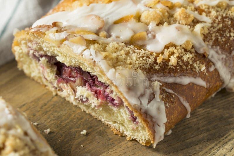 Sweet Homemade Coffee Cake Strudel stock image