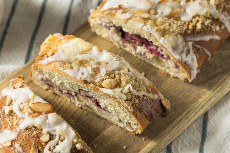 Sweet Homemade Coffee Cake Strudel royalty free stock photography