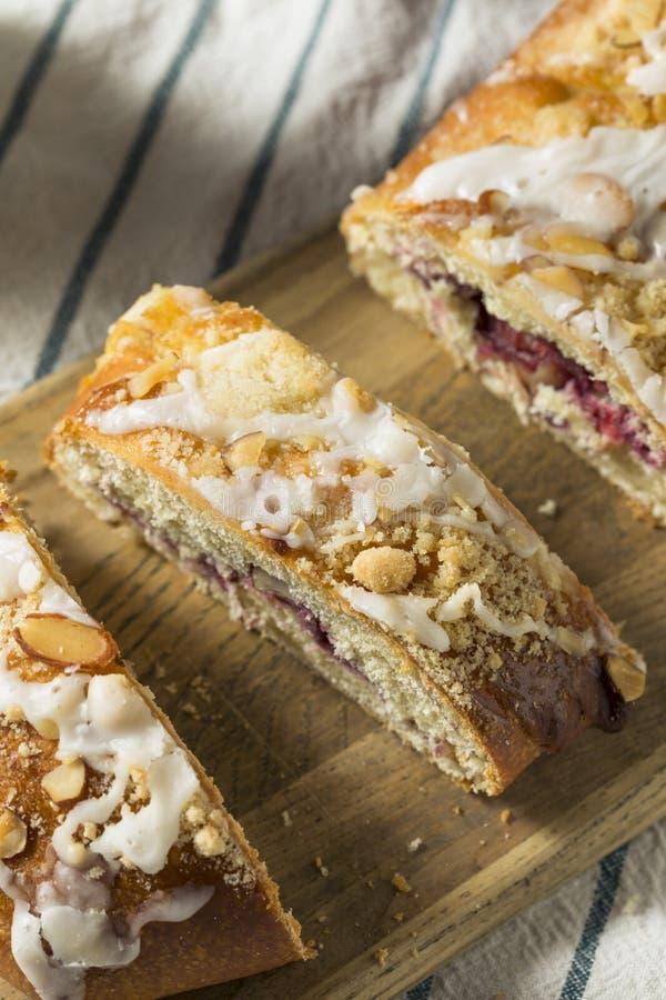 Sweet Homemade Coffee Cake Strudel royalty free stock image