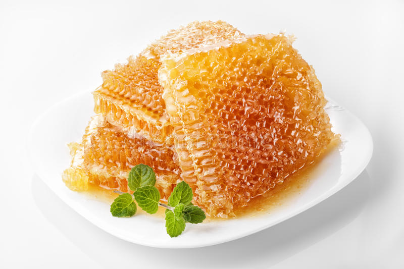 Download Sweet honeycomb stock image. Image of delicious, organic - 49378787