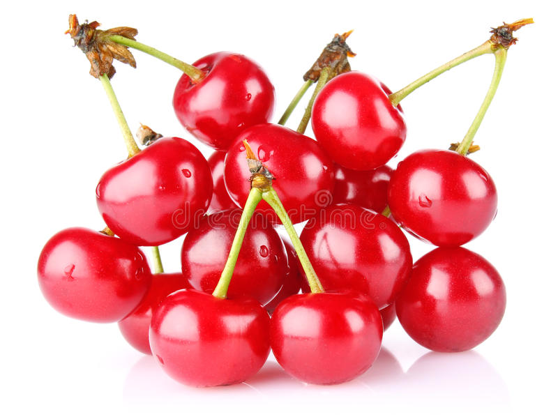 Download Sweet juicy cherry stock photo. Image of eatable, nutrition - 25252788