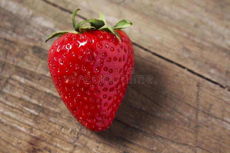 Sweet strawberry on the table stock photo
