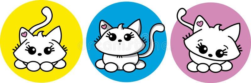 Sweet kitten stock image