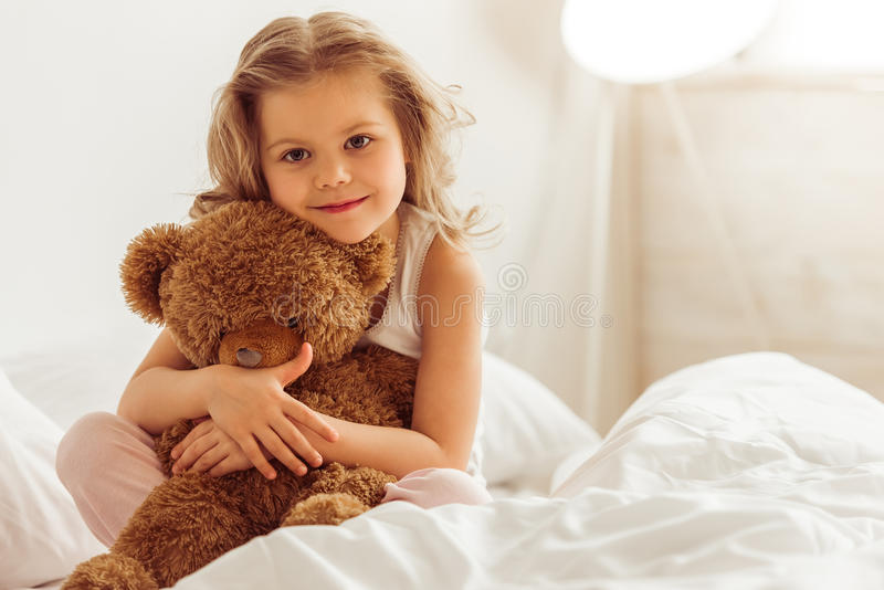 Sweet little girl royalty free stock photos