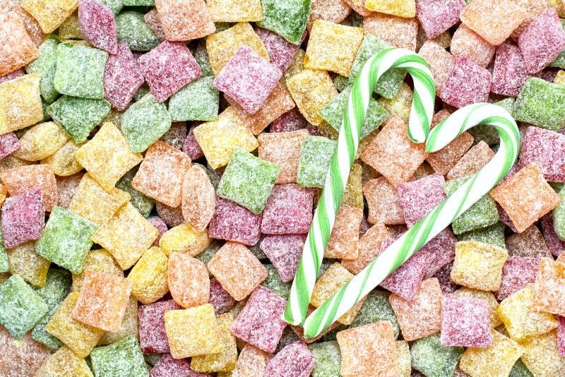 Sweet lollipops stock photo