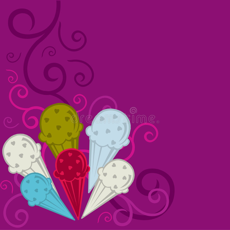 Download Sweet love stock vector. Image of purple, love, delicious - 7928935