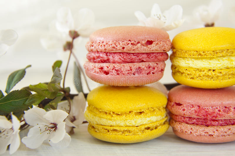 Download Sweet Macarons stock photo. Image of french, shop, biscuits - 39504588