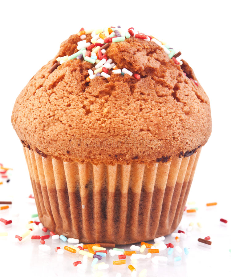 Sweet muffin stock images