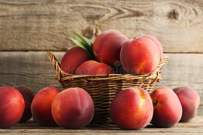 Sweet nectarines stock photography