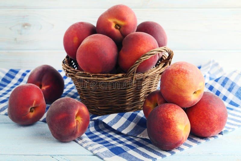 Sweet nectarines stock photo