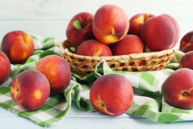 Sweet nectarines royalty free stock image
