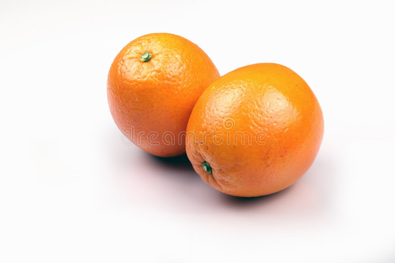 Sweet oranges stock images