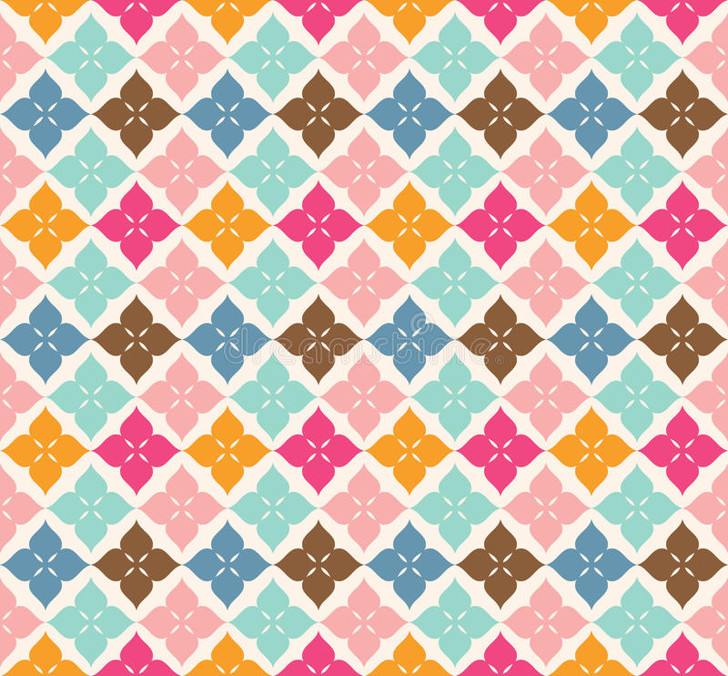 Sweet pattern design royalty free stock photography