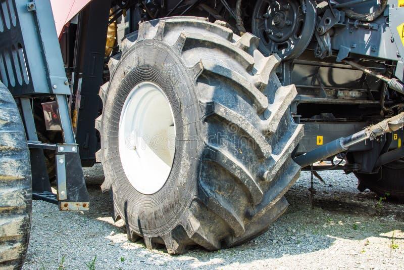 harvester wheel royalty free stock photography