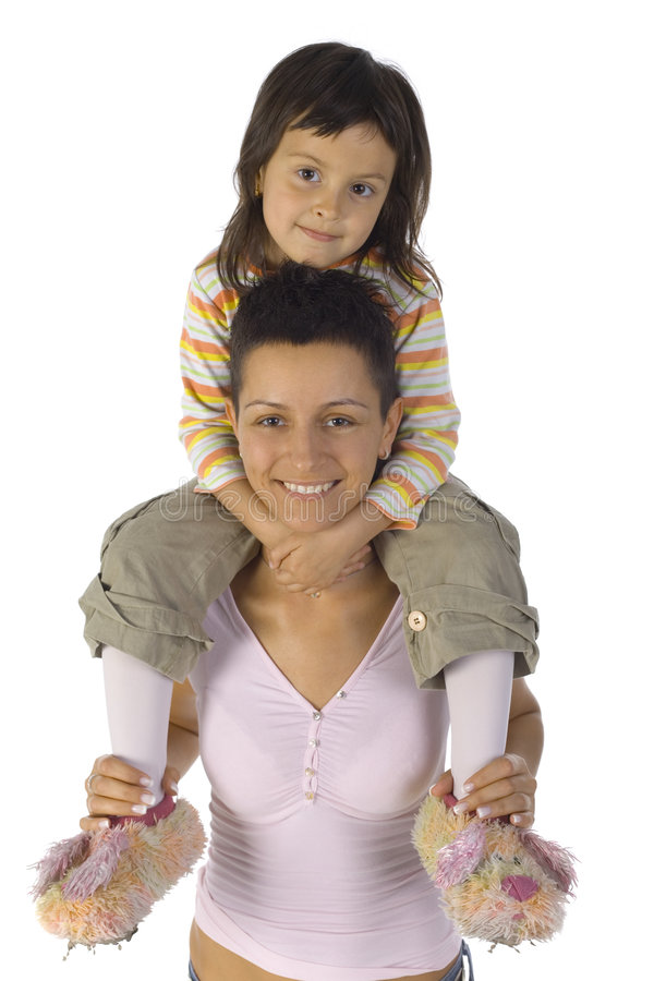 Download Sweet picture stock photo. Image of mother, happy, generation - 2583122