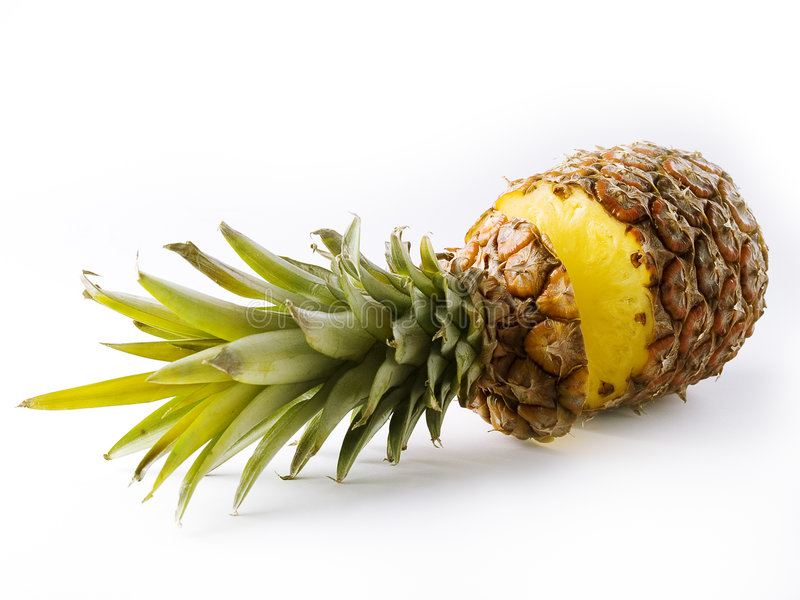 Sweet pineapple royalty free stock images