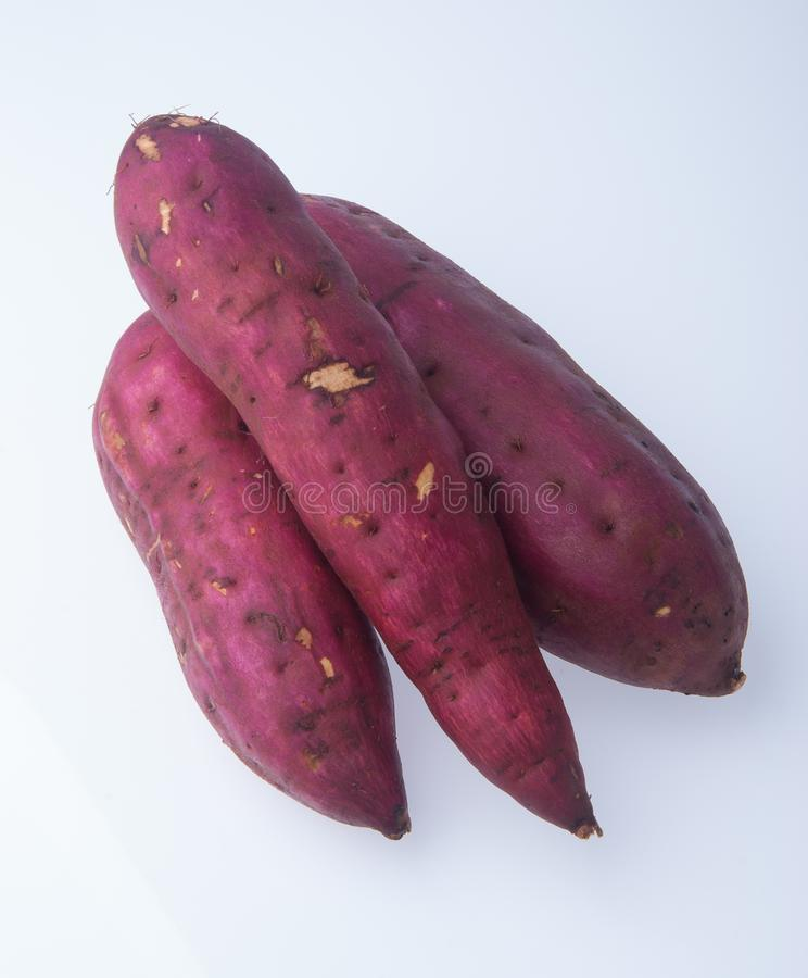 sweet potato on background royalty free stock photo