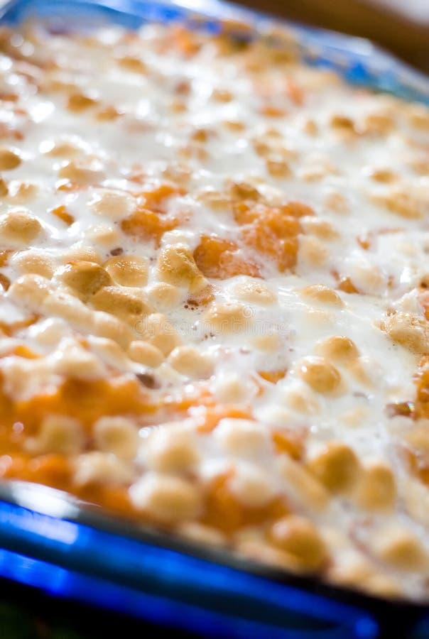 Sweet potato caserole stock images