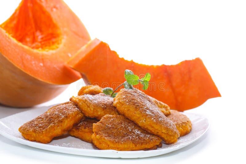 Download Sweet Pumpkin Pancakes Stock Photo - Image: 83704428
