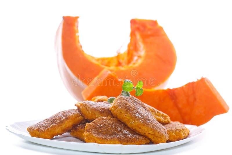 Download Sweet Pumpkin Pancakes Stock Photo - Image: 83704632