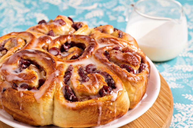 Download Sweet Rolls With Dried Fruits Stock Photo - Image: 29021114