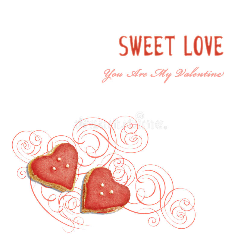 Sweet romance royalty free stock images