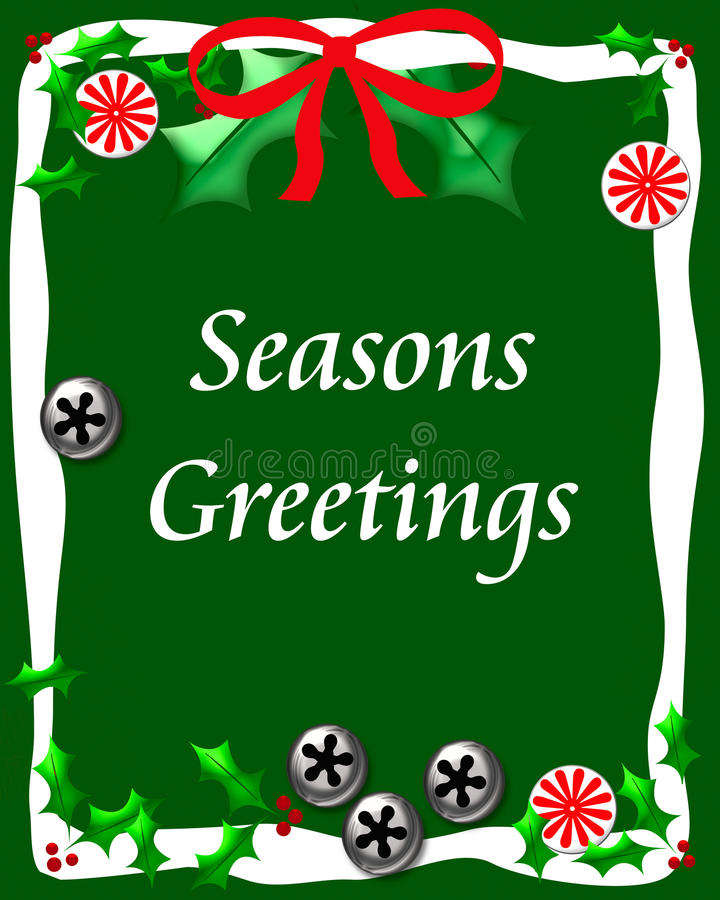 Free Sweet Seasons Greetings Royalty Free Stock Photography - 21755317