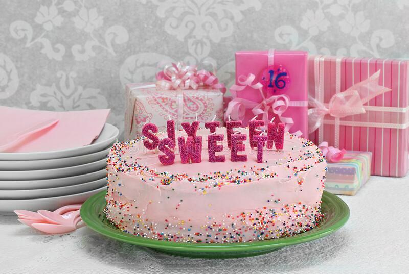 Swell Sweet Sixteen Birthday Cake Stock Photos Download 66 Royalty Personalised Birthday Cards Sponlily Jamesorg