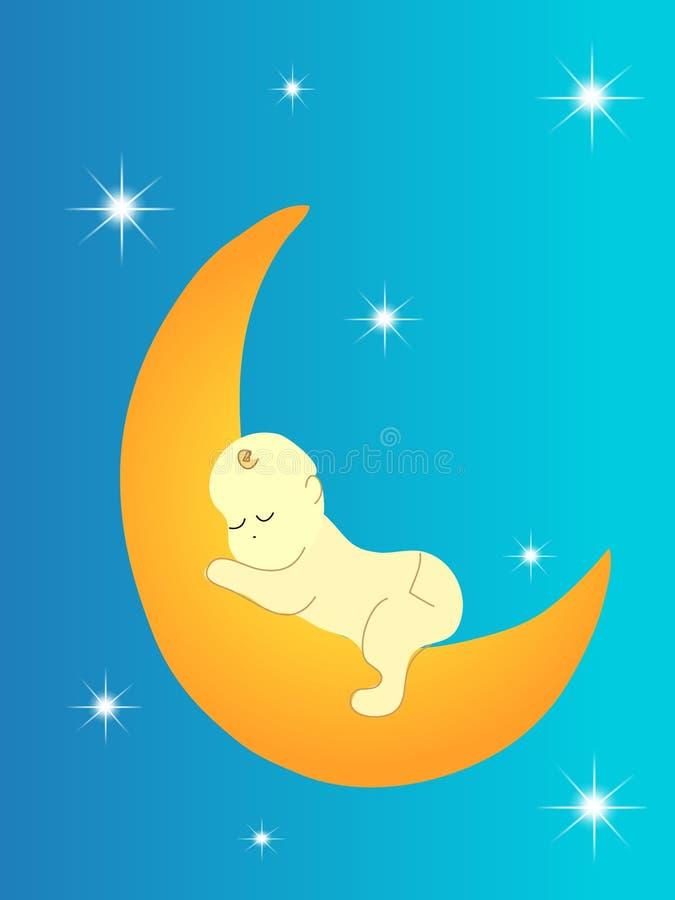Sweet sleep royalty free illustration