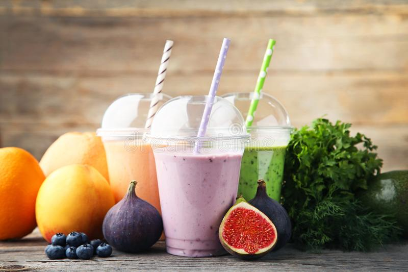Sweet smoothie stock photography