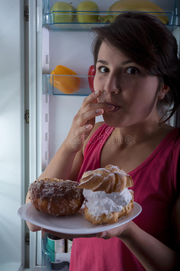 Sweet snacks stock image