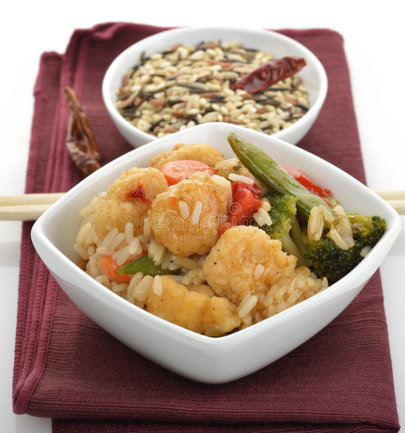 Download Sweet And Sour Chicken stock photo. Image of food, bowl - 27061610