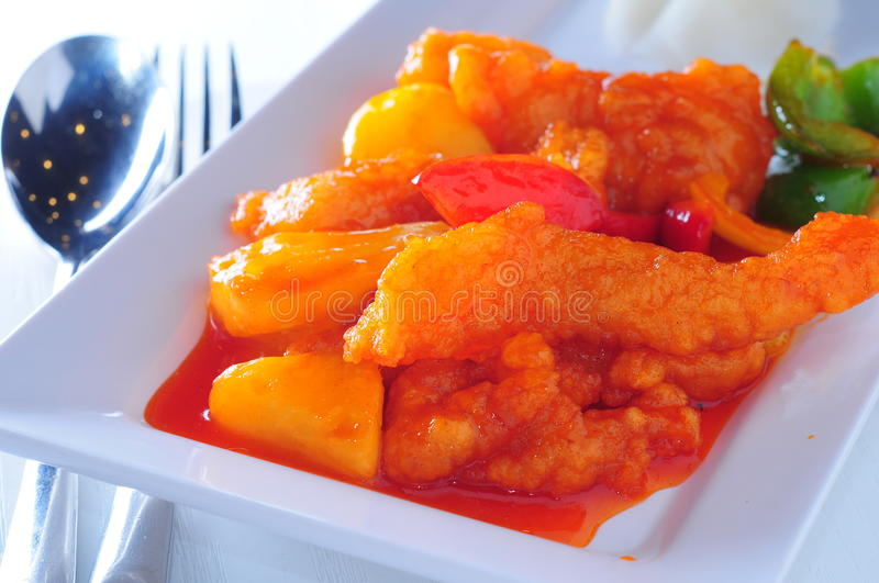 Sweet Sour Fish Royalty Free Stock Image