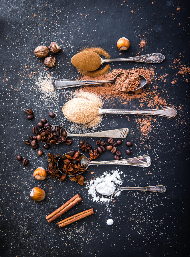 Sweet spices royalty free stock photo