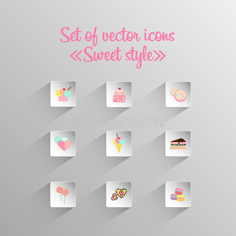Sweet style icon royalty free stock photography