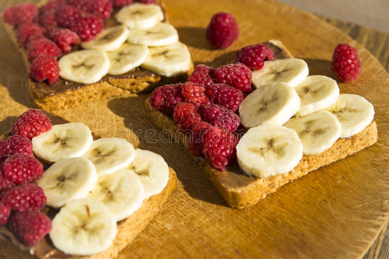 Sweet summer snack for a vegan stock photography